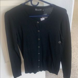 New York and Co size Medium black cardigan NWT